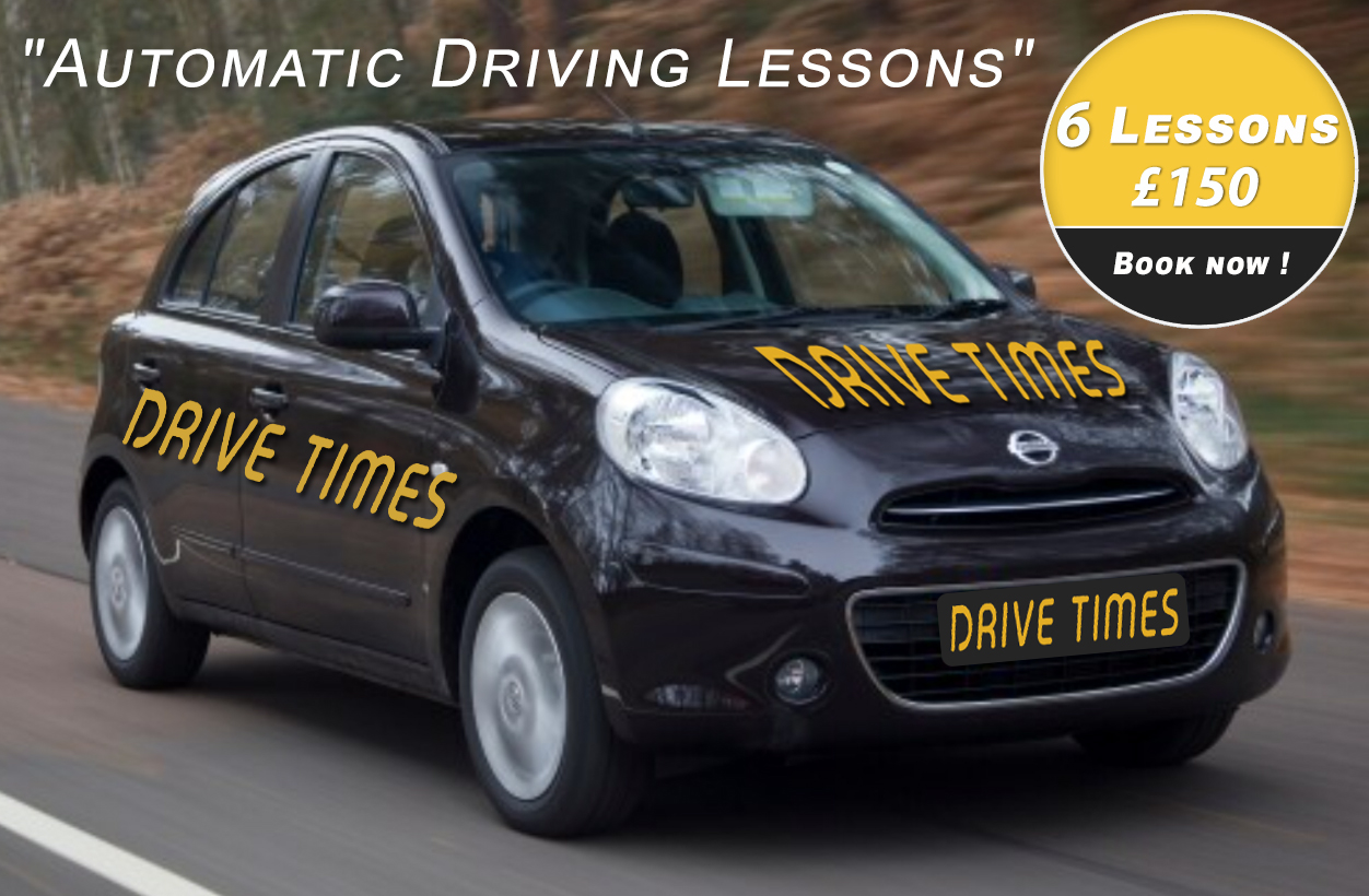 Automatic driving lessons Palmers Green